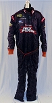 NO FEAR Simpson SFI-5 Multilayer NOMEX Race Used NASCAR Firesuit #5449 52/46/29