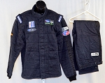 IMSA Sparco SFI-5 Race Used Patron Tequila 3-layer Fire Suit #5505 46/40/32