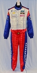 IMSA OMP Camaro Robin Liddell FIA Rated Multilayer NOMEX DRIVER Worn Race Suit #5516 40/36/31