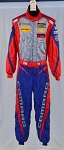 OMP IMSA FIA rated NOMEX Race Used Robin Liddell DRIVER FIRE SUIT #5553 40/30/32