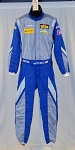Sparco IMSA FIA rated NOMEX  Chevy Matt Bell DRIVER FIRE SUIT #5556 40/32/31