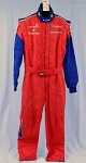 IMSA OMP FIA Rated Race Used Multilayer NOMEX Fire Suit #5576 44/40/34