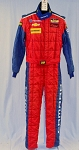 IMSA OMP FIA Rated Race Used Multilayer NOMEX Fire Suit #5584 40/36/31