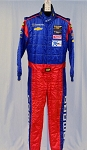 OMP IMSA FIA Rated Race Used Chevy Matt Bell DRIVER SUIT Fire Suit #5586 40/36/31