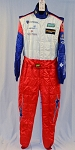 OMP FIA rated Chevy IMSA ROLEX Racing DRIVER Worn Suit. #5605 40/36/33