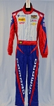 OMP FIA rated Chevy Camaro IMSA ROLEX Racing DRIVER Worn Suit . Matt Bell #5612 40/32/31