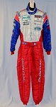 Sparco IMSA Grand Am Pontiac Racing DRIVER SUIT Liddell. FIA and SFI-5  #5622 40/32/32