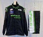 Dakoda Armstrong Winfield Petty Race Used Sparco SFI-5 NASCAR Suit #5678 50/40/32