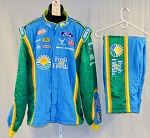 Richard Petty Fresh From Florida Race Used Sparco SFI-5 NASCAR Suit #5687 48/40/30