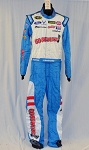 Aric Almirola Petty GO BOWLING! Race Used NASCAR DRIVER Suit #5818 36/32/34