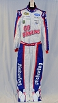 Brian Scott Petty GO BOWLING! MONSTER Race Used NASCAR DRIVER Suit #5819 40/34/34