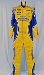 Sam Hornish Petty Twisted Tea AUTOGRAPHED NASCAR DRIVER SUIT #5836 40/36/33