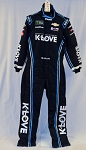 MONSTER Michael McDowell KLOVE Sparco SFI-5 NASCAR DRIVER Fire Suit #5844 46/38/32