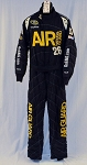 Oakley Air National Guard SFI-5 Race Used NASCAR Cup Racing Suit #5846 42/38/30