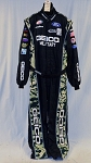 Geico Ford Sparco SFI-5 AWESOME Race Used NASCAR Racing Suit #5848 52/44/33