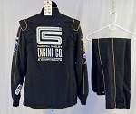 Simpson Carroll Shelby Engines SFI-5 Race Used NASCAR Fire Suit #5870 42/32/30