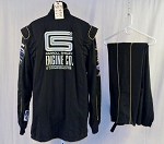 Simpson Carroll Shelby Engines SFI-5 Race Used NASCAR Fire Suit #5873 c48/w40/i33