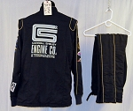 Simpson Carroll Shelby Engines SFI-5 Race Used NASCAR Fire Suit #5875 c46/w36/i31