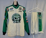 Simpson SFI-5 NOMEX G-Oil Race Used NASCAR Racing Suit. #5915 c44/w36/i30