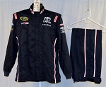 Simpson Joe Gibbs Racing SFI-5/SFI-1 Race Used NASCAR Fire suit. READ #5946 c46/w34/i30