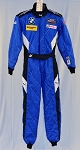 BMW IMSA PUMA SFI-5 AND FIA Rated Brand New Driver Fire Suit #6010 c40/w34/i31