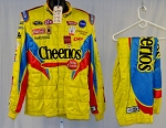 Bobby Labonte Petty Racing Cheerios Sparco SFI-5 Race Used NASCAR Suit #6023 c50/w40/i32