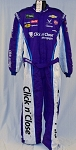 Bubba Wallace Click n' Close 2018 NASCAR Race Used Fire suit SPARCO SFI-5 #6028 c50/w42/i32