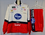 Bubba Wallace Kroger Monster 2018 Race Used NASCAR Fire Suit #6033 c52/w42/i32