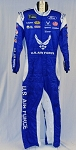 Petty Air Force Sparco SFI-5 Race Used NASCAR Monster Energy Fire Suit #6038 c44/w34/i31