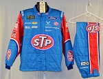Bubba Wallace Richard Petty STP Sparco SFI-5 Race Used NASCAR Fire Suit #6052 c44/w34/i32