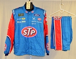 Bubba Wallace Richard Petty STP Sparco SFI-5 Race Used NASCAR Fire Suit #6057 c52/w40/i32