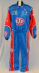 STP Bubba Wallace Monster Richard Petty Race Used NASCAR Suit. #6063 c50/w40/i30