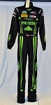 Johannes van Overbeek IMSA Patron Sparco FIA rated Race Used DRIVER SUIT #6083 c38/w30/i38