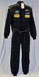 BAR1 IMSA OMP Race Used Multilayer FIA Rated Racing Suit #6160 c44/w38/i33