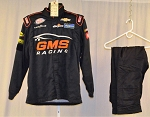 GMS Racing Chevy Race Used Simpson SFI-5 NASCAR Fire Suit #6178 c46/w40/i30