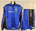 Swan Racing Impact SFI-5 Race Used NASCAR Fire Suit #6181 c50/w40/i30