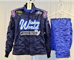 Window World Simpson SFI-5 Race Used NASCAR Firesuit #6182 c46/w38/i30