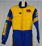 Simpson SFI-5 Grand Prix Safety Team Race Used Firesuit #6196 c44/w34/i31