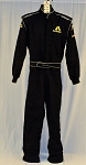 Brian Simo Impact Racing SFI-5 Race Used DRIVER WORN Fire Suit #6197 c42/w32/i31