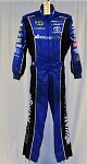 Swan Racing Impact SFI-5 Rated Race Used NASCAR Fire Suit #6200 c40/w28/i31