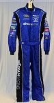 Swan Racing Impact SFI-5 Rated Race Used NASCAR Fire Suit #6201 c54/w38/i31