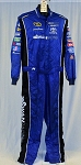 Swan Racing Impact SFI-5 Rated Race Used NASCAR Fire Suit #6203 c54/w42/i31