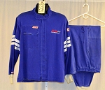 Simpson 2pc Single Layer Racing Suit. NO SFI.. #6225 c46/w38/i34