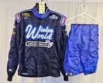 Window World Simpson SFI-5 Race Used NASCAR Firesuit #6231 c50/w42/i30