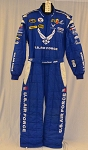 Air Force PUMA Race Used SFI-5 AND FIA rated NASCAR Fire Suit #6244 c50/w40/i30