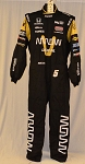 James Hinchcliffe Arrow Sparco FIA Certified Indy Car Fire Suit #6256 c46/w40/i32