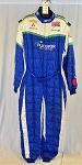 Nuclear Energy OMP FIA Rated Indy Car Race Used Firesuit. #6284 c48/w42/i32