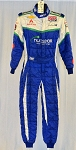 Nuclear Energy OMP FIA Rated Indy Car Race Used Firesuit. #6285 c36/w32/i29