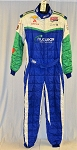 Nuclear Energy OMP FIA Rated Indy Car Race Used Firesuit. #6286 c44/w40/i32