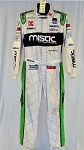 Mistic Chevy IndyCar Sparco FIA Rated Race Used Fire Suit #6287 c40/w36/i28